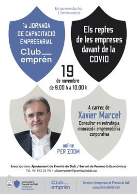 1a Jornada de Capacitació Empresarial del Club Emprèn, on line