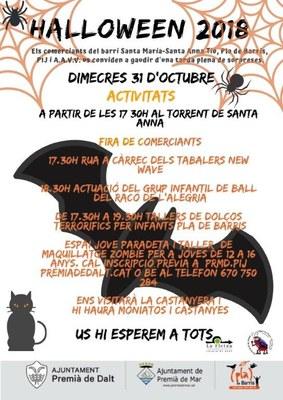Halloween 2018 al barri Santa Anna