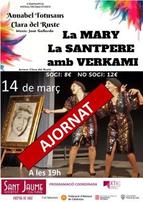 Ajornada l'obra 'La Mary. La Santpere'