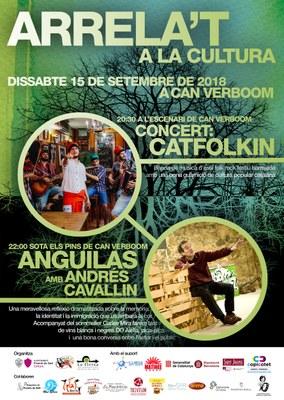 Arrela't 2018: inauguració i inici activitats