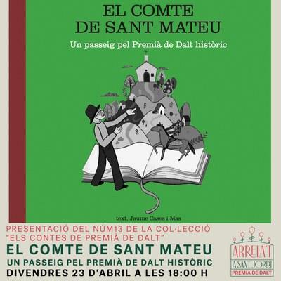 """Presentació del 13è conte infantil, """"El comte de Sant Mateu. Un passeig pel Premià de Dalt històric"""""""