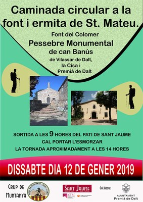 Caminada circular a la font i ermita de Sant Mateu