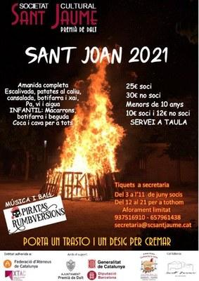 Celebració de Sant Joan a Sant Jaume
