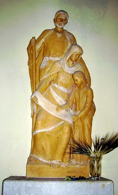 Celebracio dels patrons de la gent gran, Sant Joaquim i Santa Anna, pares de Maria