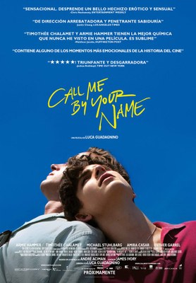 Cine Fòrum. Projecció de 'Call me be your name'