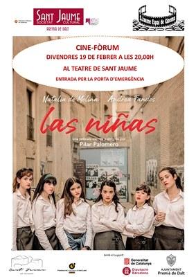 Cine-Fòrum: projecció de 'Las niñas'