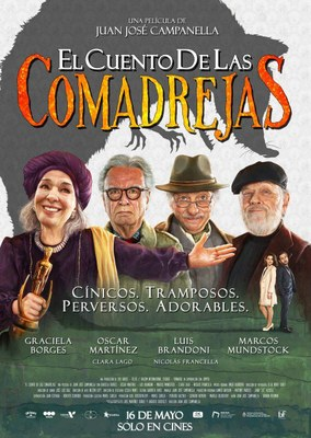 """Cinefòrum.  Cicle J.J CAMPANELLA. Projecció de la pel·lícula """"El cuento de las comadrejas"""""""