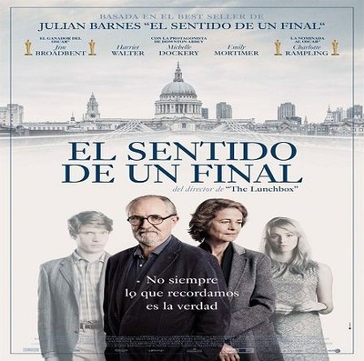 "Cinefòrum: ""El sentido de un final"""