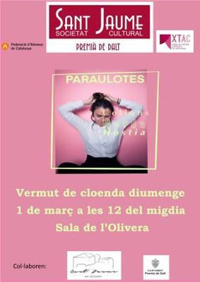 Cloenda de l'exposició 'Paraulotes' a càrrec de la Mireia Pujol