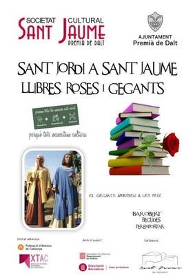 Sant Jordi a Sant Jaume: llibres, roses i gegants