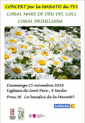Concert de la Coral Mare de Déu del Coll de Barcelona i de la Coral Primiliana de Veus Femenines
