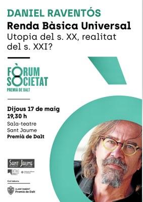 Conferència: Renda bàsica universal. Utopia del s. XX, realitat del s. XXI