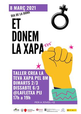 Dia de les Dones: et donem la xapa!