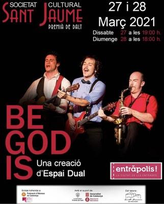 Dia Mundial del Teatre: Be God Is de la Cia. Espai Dual