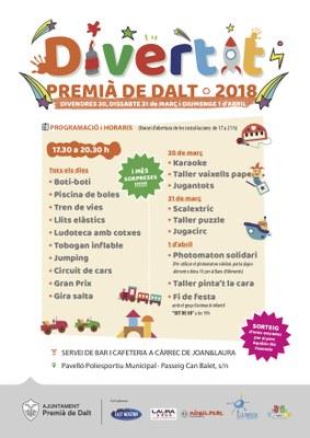 Divertit 2018, Festival de la Infància i la Joventut de Premià de Dalt