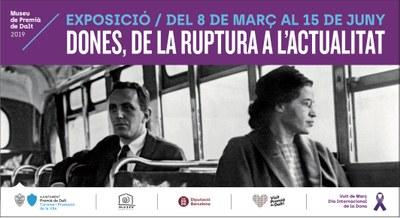 'Dones, de la ruptura a l'actualitat': taula rodona i inauguració de l'exposició