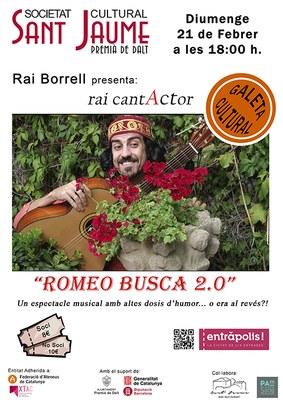 Espectacle musical 'Romeo busca 2.0'