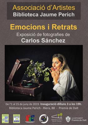 Exposició 'Emocions i Retrats', fotografies de Carlos Sánchez