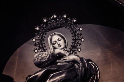 Festa de l'Assumpció de Maria. Vespres i missa