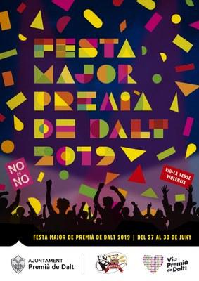 Festa Major: del 27 al 30 de juny de 2019