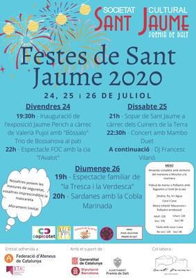 Festes de Sant Jaume 2020