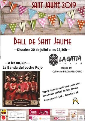 Festes de Sant Jaume: ball de Sant Jaume