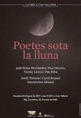 Festival de Poesia del Maresme: Poetes sota la lluna