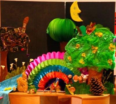 Hora del conte per a nadons (de 0 a 3 anys):  Bosquim Boscam, el bosc dels sentits