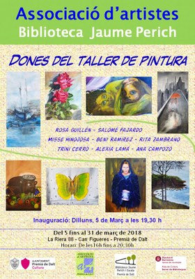 """Inauguració de l'exposició """"Dones del taller de pintura"""""""