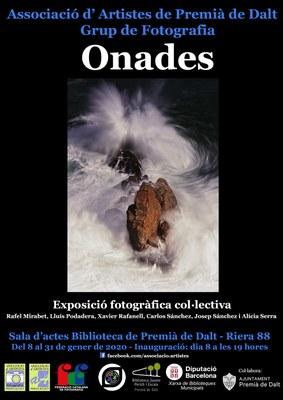Inauguració de l'exposició fotogràfica col·lectiva 'ONADES'
