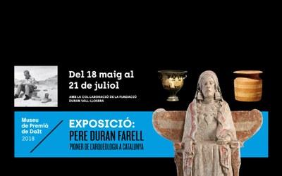 """Inauguració de l'exposició """"Pere Duran Farell, pioner de l'arqueologia a Catalunya"""""""