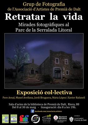 Inauguració de l'exposició 'Retratar la vida: Mirades fotogràfiques al Parc de la Serralada Litoral'