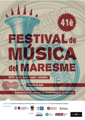 """Inauguració i presentació del 41è Festival de Música del Maresme: """"Sonates de Bach"""""""