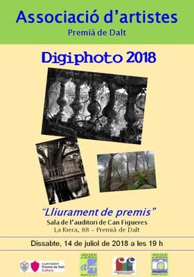 Lliurament de premis 'Digiphoto 2018'