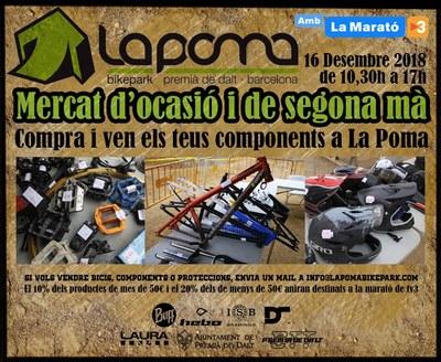 Mercat d'ocasió i segona mà per a La Marató de TV3