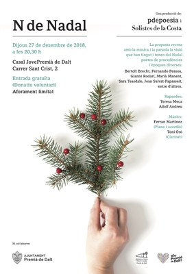 N de Nadal, una producció de P de Poesia i Solistes de la Costa