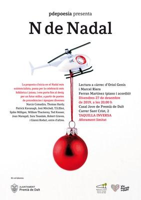 P de Poesia presenta 'N de Nadal'