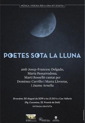 Poetes sota la lluna: Música i Poesia per a una nit d'estiu
