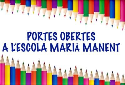 Portes obertes a l'Escola Marià Manent