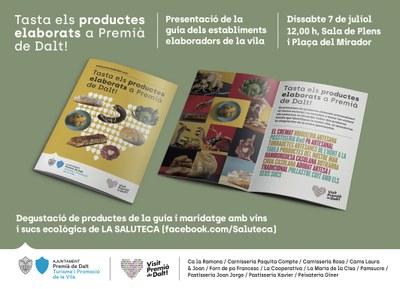 Presentació de la guia 'Tasta els productes elaborats a Premià de Dalt'
