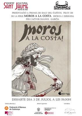 """Presentació del capítol pilot de la sèrie """"Moros a la Costa"""", escrit i dirigit per l'actor Imanol Garcia"""