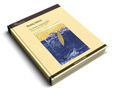 """Presentació del llibre  """"La frase immutable""""  de Vicenç Llorca"""