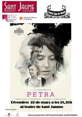 Projecció de la pel·lícula 'Petra'