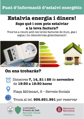 Punt d'informació d'estalvi energètic