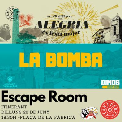 Sant Pere 2021: Escape Room itinerant per Premià de Dalt