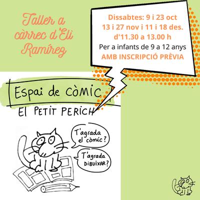 """Taller de còmic """"El Petit Perich"""",  a càrrec d'Eli Ramírez"""