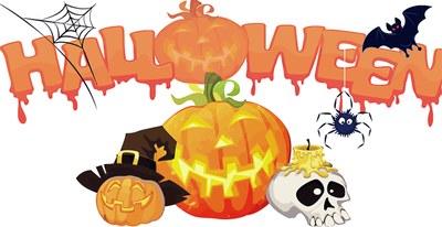 Taller de paper picat, decoració Halloween