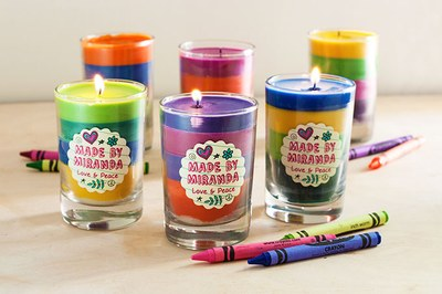 Taller DIY Crayon Candles