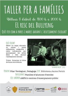 Taller per a famílies: El risc del bullying