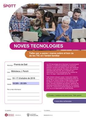 Taller per a mares i pares sobre el bon ús de les TIC